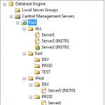 CMS Registered Servers