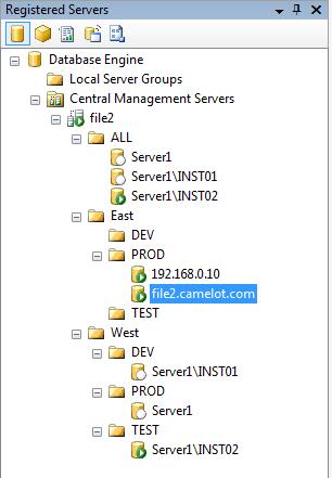 CMS Registered Servers 2